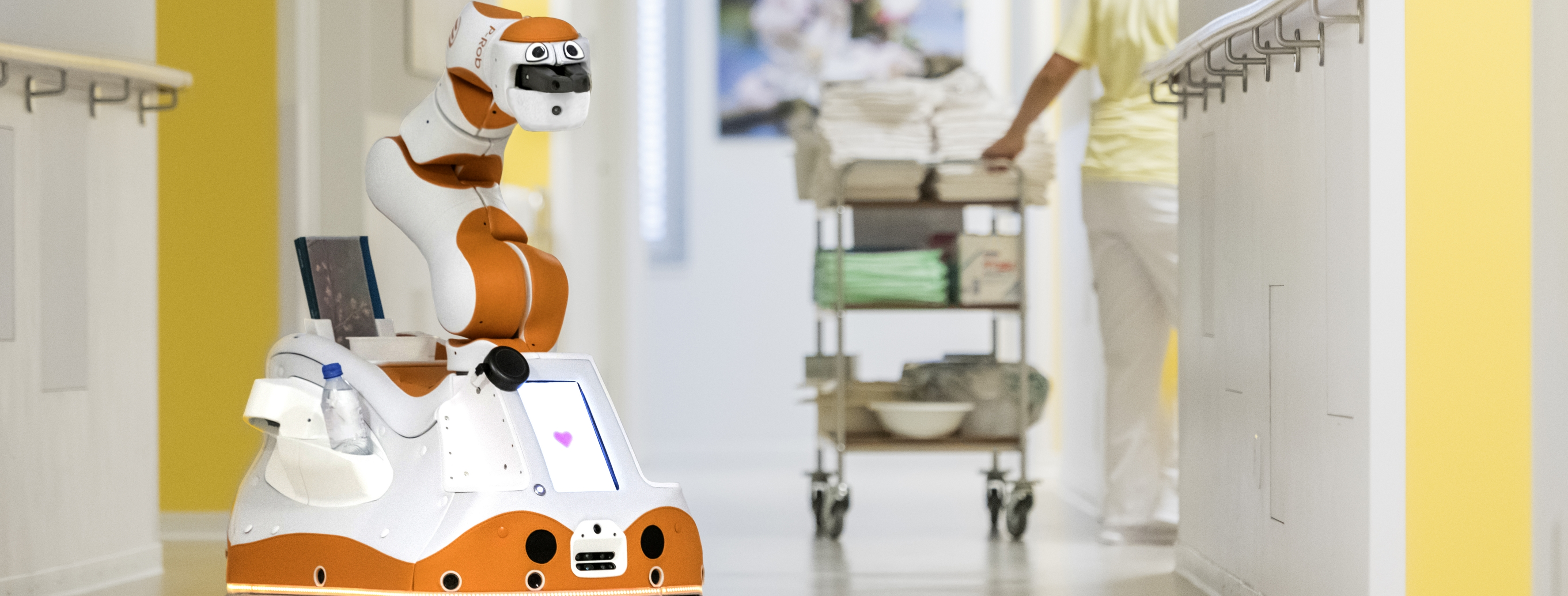Personal robot Lio - designed to assist care personnel and improve people's quality of life