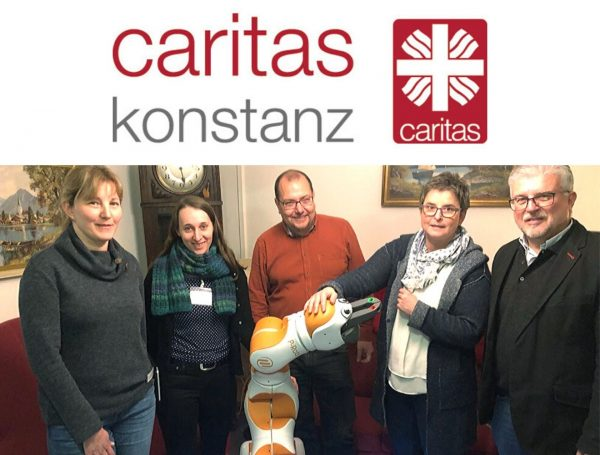 Assistant care robot Lio in Constance