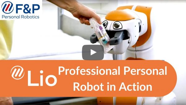 New Video about Lio - personal assistant robot