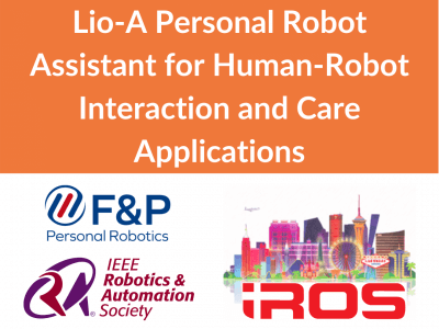Lio-A Personal Robot Assistant for Human-Robot Interaction and Care Applications