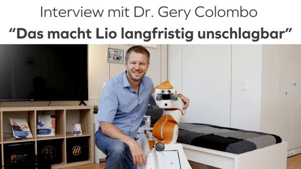 Interview mit Gery Colombo uber Lio und F&P Robotics