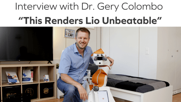Interview with Gery Colombo about F&P Robotics