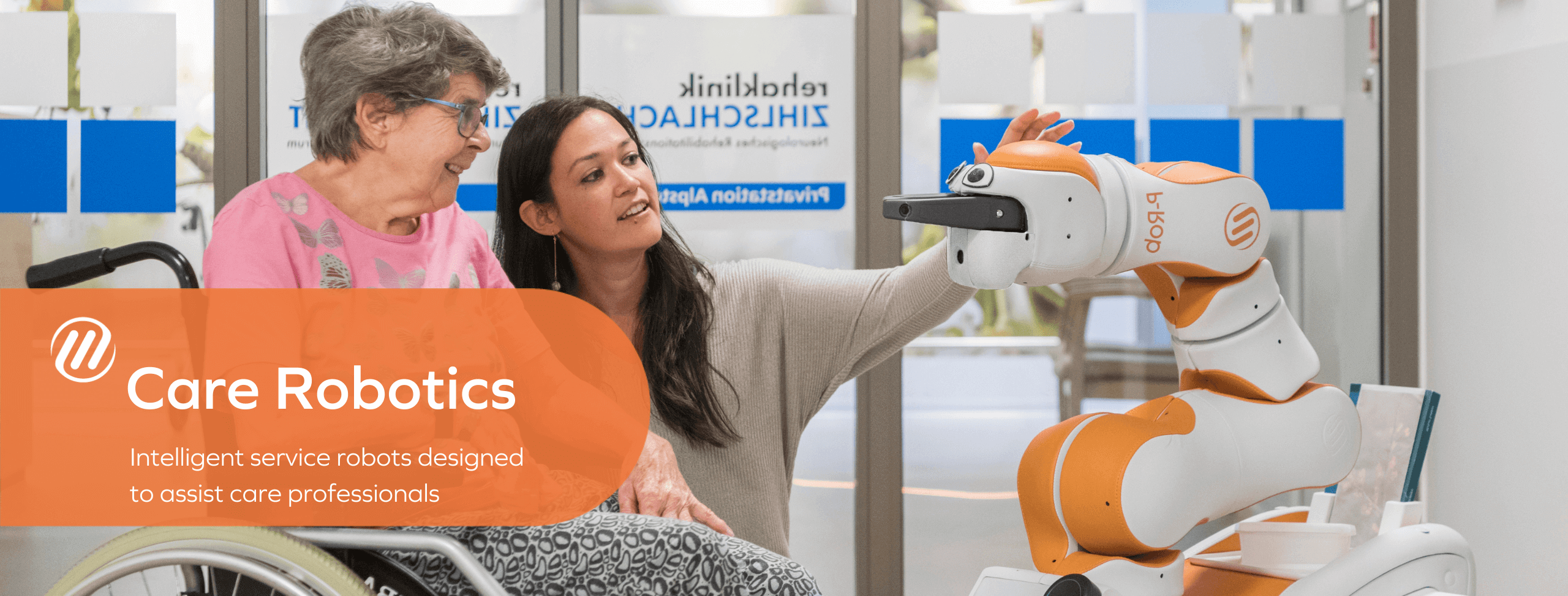 Care Robotics - Intelligent service robots designed to assist care professionals