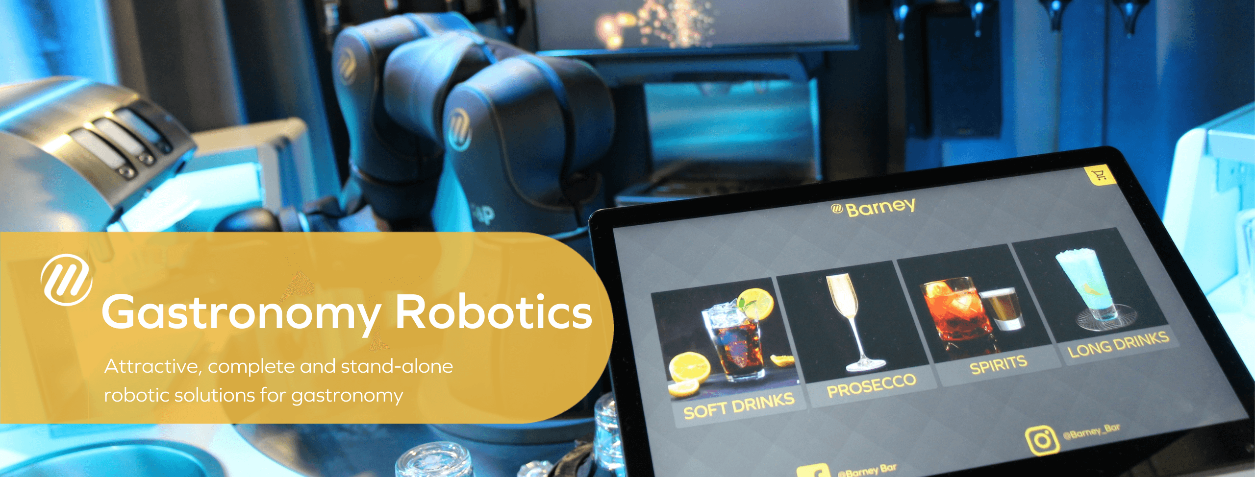 Gastronomy Robotics - Attractive, complete and stand-alone robotic solutions for gastronomy