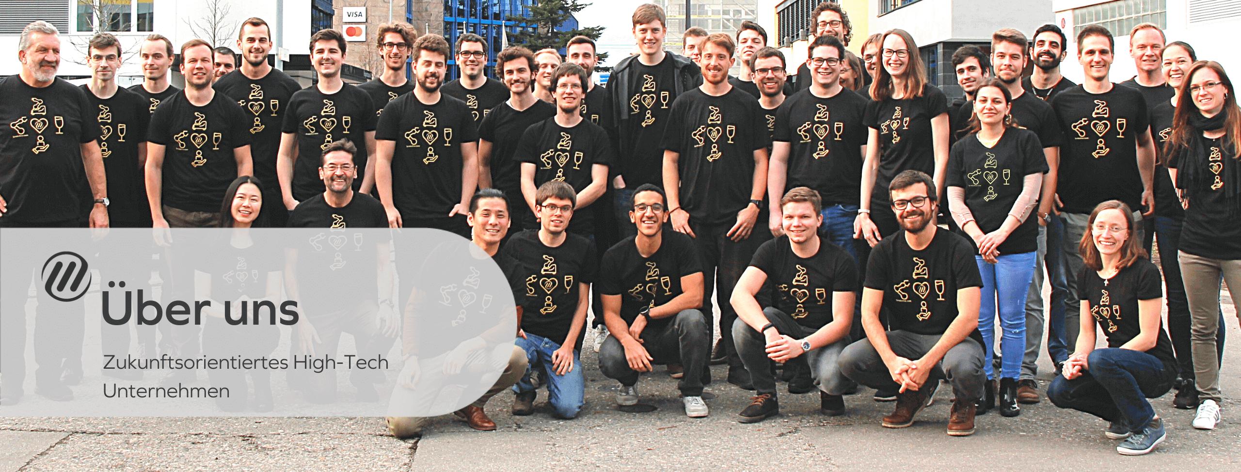 Future oriented high tech company F&P Robotics