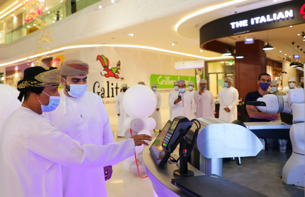 The Barney Bar now serves drinks in Oman